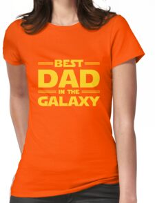 Star Wars - Best Dad in The Galaxy Womens Fitted T-Shirt