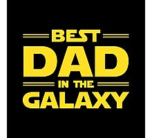 Star Wars - Best Dad in The Galaxy Photographic Print