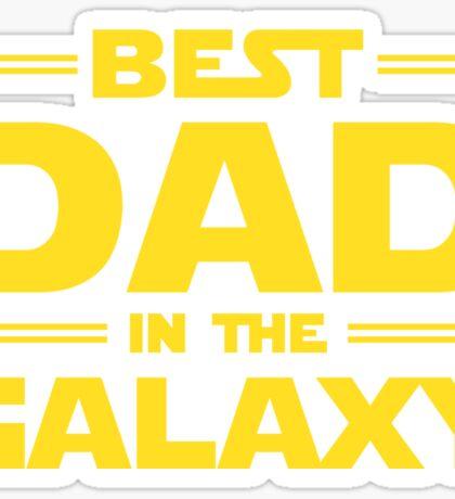 Star Wars - Best Dad in The Galaxy Sticker