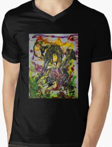 Rock Star by Darryl Kravitz Mens V-Neck T-Shirt