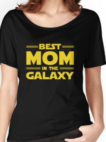 Star Wars - Best Mom in The Galaxy Women's Relaxed Fit T-Shirt