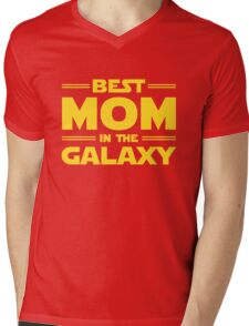Star Wars - Best Mom in The Galaxy Mens V-Neck T-Shirt