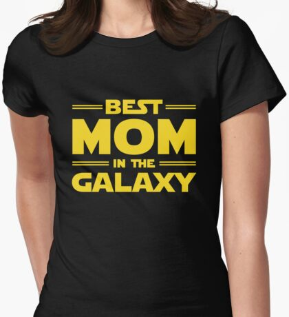 Star Wars - Best Mom in The Galaxy Womens Fitted T-Shirt