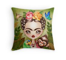 Frida Querida Throw Pillow