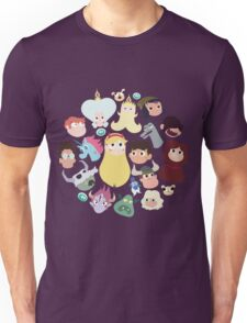 Star vs. the Forces of Evil Characters Unisex T-Shirt