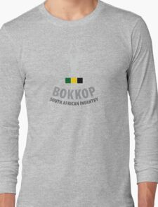 """Bokkop"" South African Infantry Shirt Long Sleeve T-Shirt"