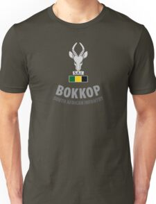 """Bokkop"" South African Infantry Shirt Unisex T-Shirt"
