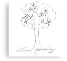 Forgotten Tree Canvas Print