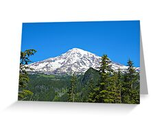 Mt. Rainier Closer Greeting Card