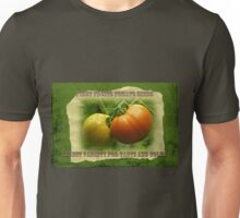 First Fruits Tomato Seeds Unisex T-Shirt