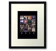 Pulp - Disco 2000 Framed Print