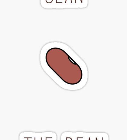 Sean the Bean Sticker