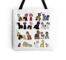 Star Wars Ponies Tote Bag