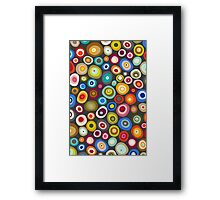 freckle spot lead Framed Print