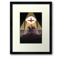 Two Ends Framed Print