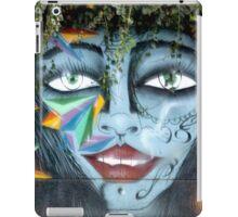 Graffiti With Greenery Hairdo iPad Case/Skin