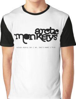 Arctic Monkeys - WPSIATWIN Graphic T-Shirt