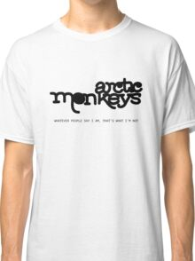Arctic Monkeys - WPSIATWIN Classic T-Shirt