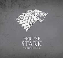 House Stark Duvet Cover by Cian Breathnach