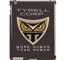 Blade Runner Tyrell Corp logo iPad Case/Skin
