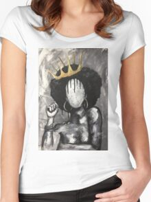 Naturally Queen Women's Fitted Scoop T-Shirt