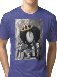 Naturally Queen Tri-blend T-Shirt