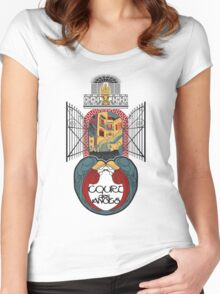 """Court of Angels - """"Court des Anges"""" Women's Fitted Scoop T-Shirt"""