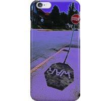 Stop War! iPhone Case/Skin