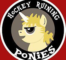 Hockey Ruining Ponies: Uni-Kane by hockeyponies