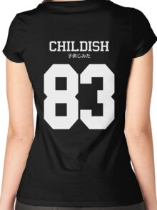 Childish Jersey Women's Fitted Scoop T-Shirt