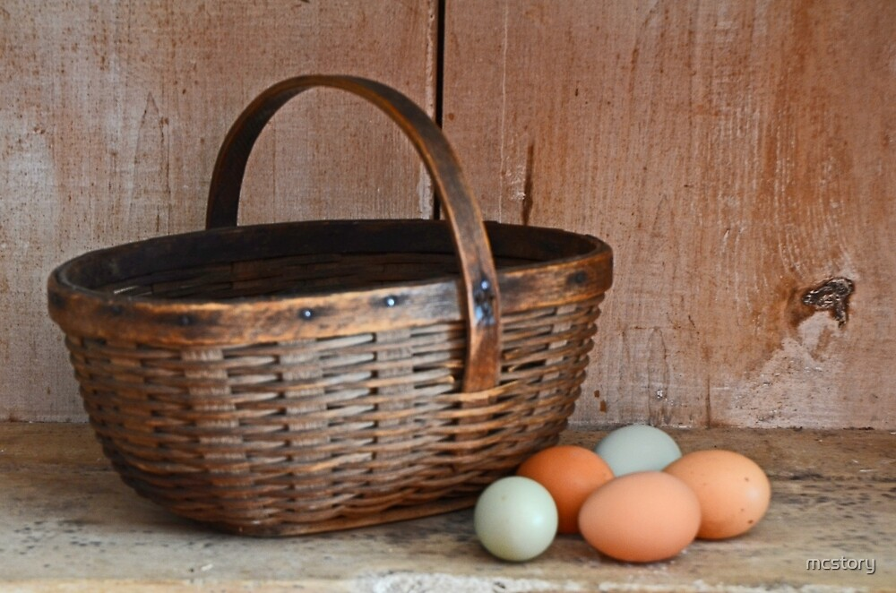 My Grandma's Egg Basket by Mary Carol Story