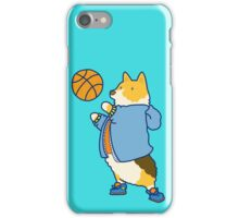 Corgi's are Basketball Stars! iPhone Case/Skin