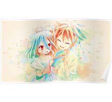 YOUNG SORA & SHIRO Poster