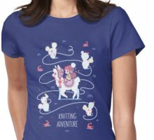 Knitting Adventure Womens Fitted T-Shirt