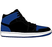 "Air Jordan I (1) ""Royal Blue"" Photographic Print"