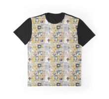 Sherlock BBC Pattern Graphic T-Shirt