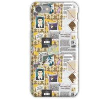 Sherlock BBC Pattern iPhone Case/Skin