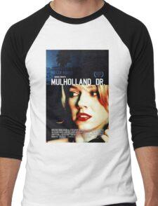 Mulholland Drive Movie Poster Men's Baseball ¾ T-Shirt