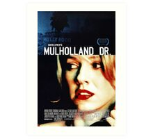 Mulholland Drive Movie Poster Art Print