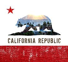 Shining Down On The California Republic by Saranet