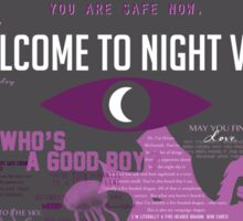 Best of Welcome to Night Vale Sticker