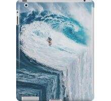 Surfing A Flat Earth iPad Case/Skin