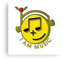 I Am Music Canvas Print
