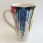 Drippy Artist Mug by Julie Anne
