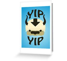 YIP YIP APPA! Greeting Card