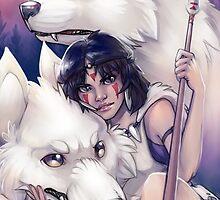 Princess Mononoke by elliem-