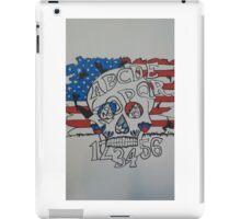 America the ouija iPad Case/Skin