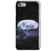 aliens ! iPhone Case/Skin