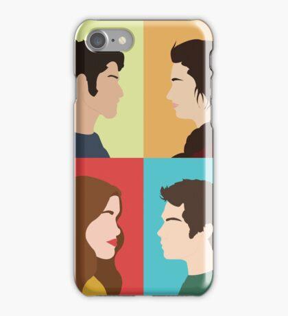 Scott, Allison, Lydia + Stiles iPhone Case/Skin