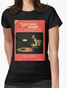 upside down Womens Fitted T-Shirt